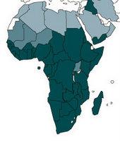 schistosomiasis map
