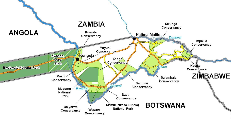 Caprivi Hunting Areas