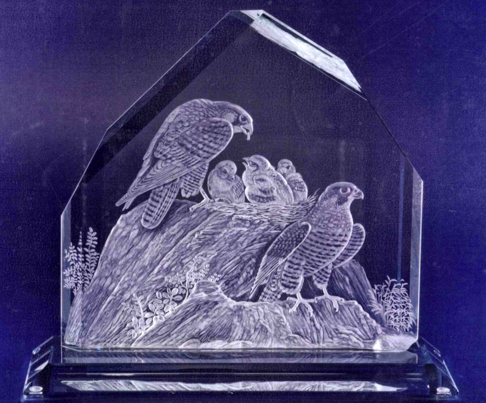 Crystal Block of Falcon