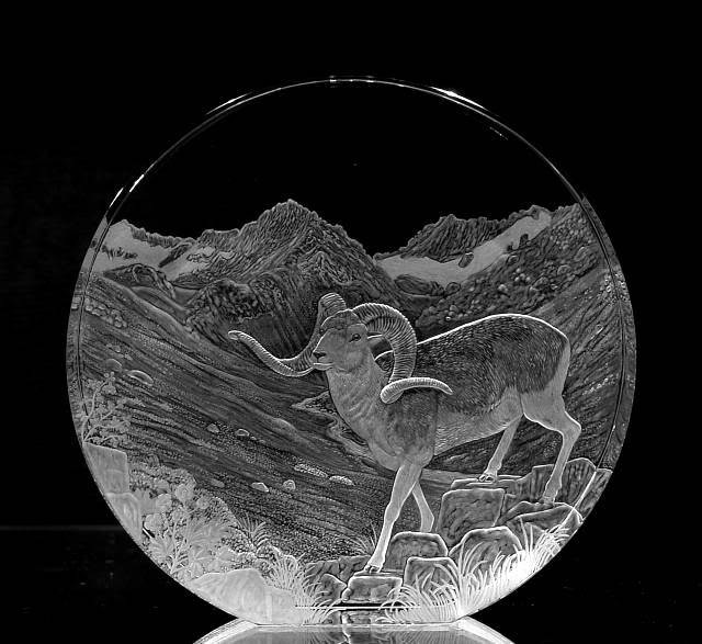 Crystal Circle with Sheep