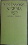 Impressions: Nigeria 1925