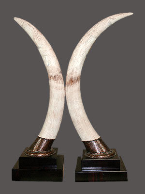 Elephant Ivory Pedestal