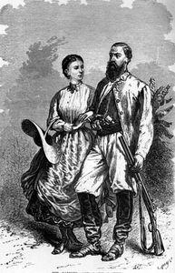 Florence & Samuel W Baker