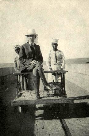 Frank G Carpenter on the Aswan Dam, Egypt