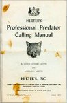 Herter's Professional Predator Calling Manual