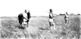 Photograph: My Masai Sais and Gunbearers