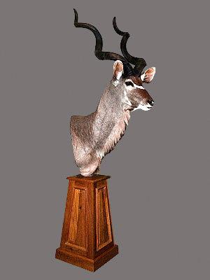 Greater Kudu Pedestal Mount