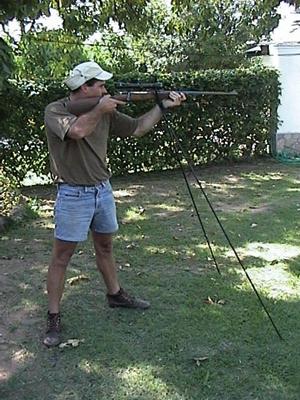 Bi-Pod shooting
