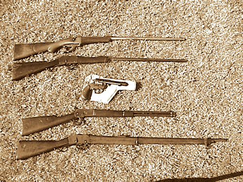 Lever Action In Africa