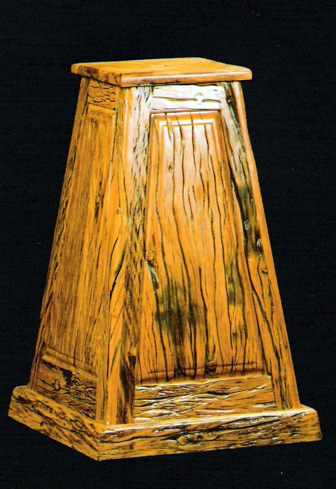 Sleeper Wood Pedestal
