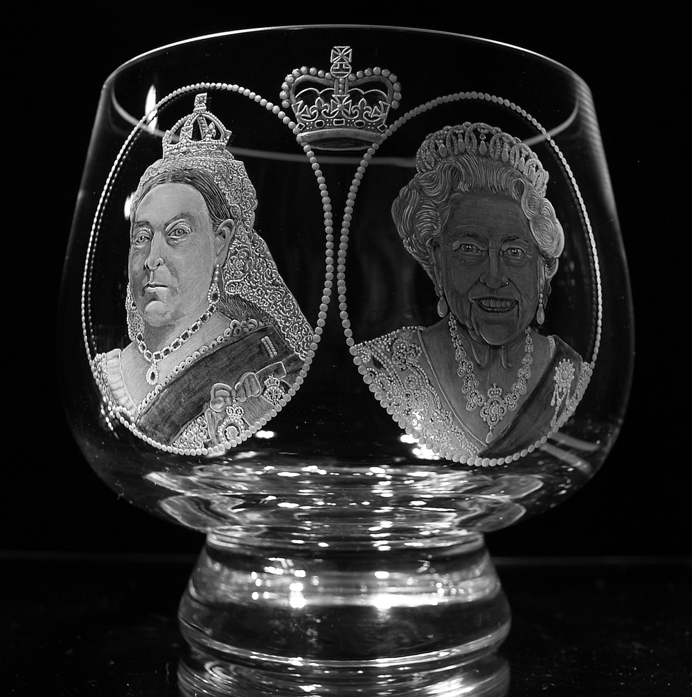 Crystal Bowl | Queen Elizabeth