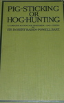 Pig-Sticking Or Hog-Hunting