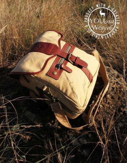 Safari Day Bag - The Everything Bag