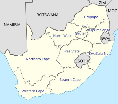 South Africa Provinces