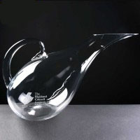 Crystal Swan Decanter