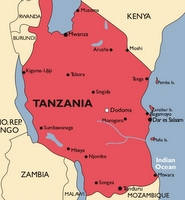 Tanzania Malaria Map