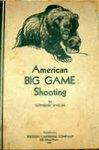 American Big Game Shooting