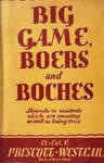 Big Game, Boers And Boches