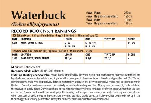 Waterbuck Records