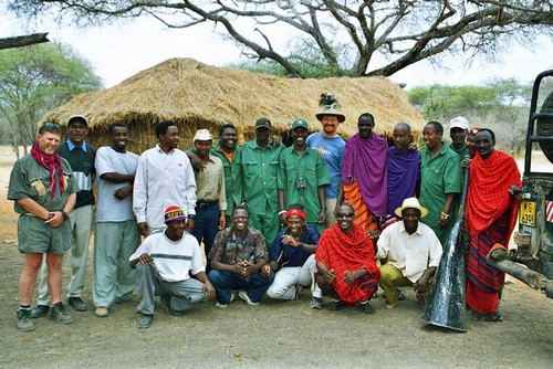 African Hunting Staff