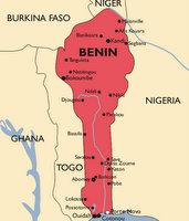 Benin Malaria Map