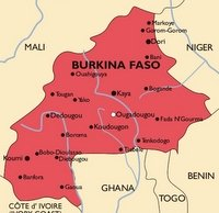 Burkina Faso Malaria Map
