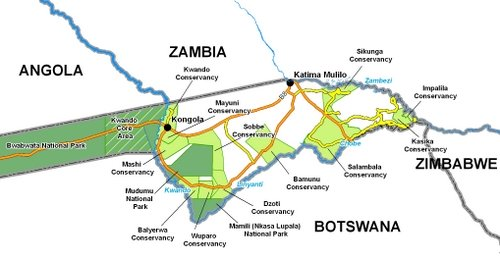 Caprivi Hunting Areas