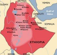 Ethiopia Malaria Map