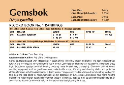 Gemsbok Records