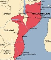 Mozambique Malaria Map