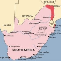 South Africa Malaria Map