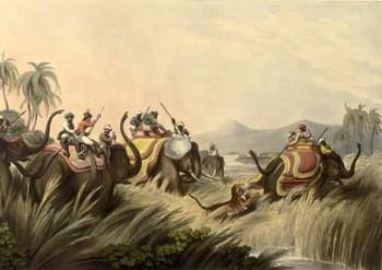 Captain Thomas Williamson's sketch