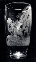 Tiger Hunting Vase