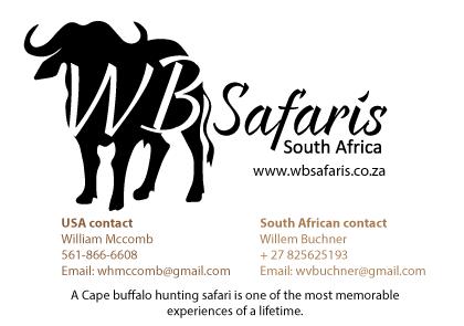 Willem Buchner Safaris