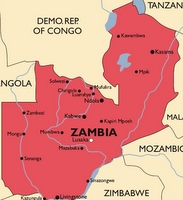 Zambia Malaria Map