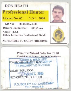 Zimbabwe PH licence